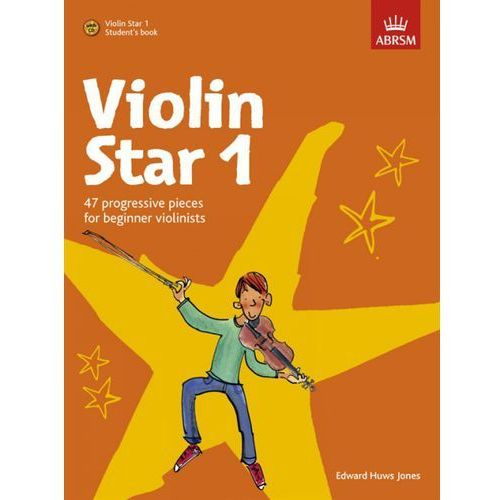 PWM Huws Jones Edward - Violin Star vol. 1 (utwory na skrzypce + CD)