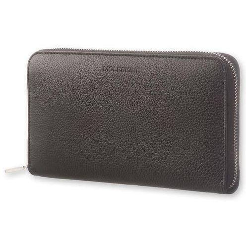 Portfel Moleskine Zip Wallet Lineage Honeysuckle czarny, ET64LNPUBK