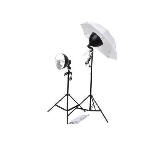 Zestaw studio: parasole, abażury i statywy, vidaXL z VidaXL