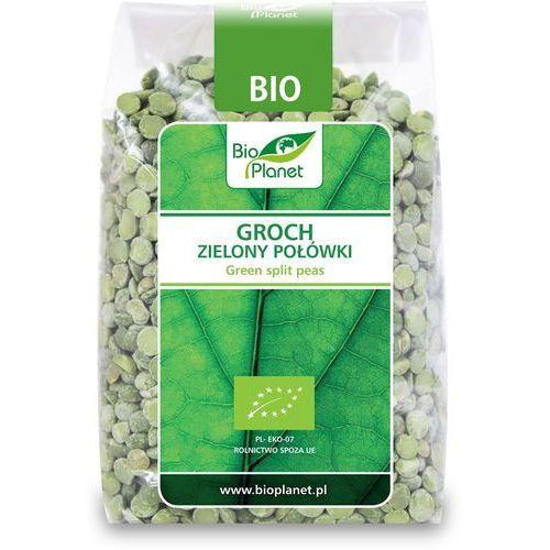 Groch zielony połówki BIO 400g (5907814660015)