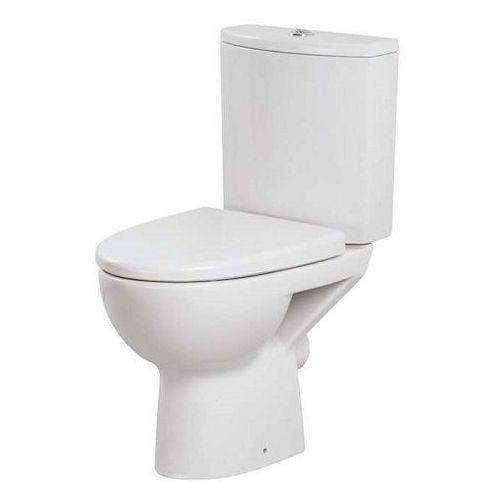 Cersanit parva kompakt wc z deską duroplast, odpływ pionowy k27-003 (5907720648602)