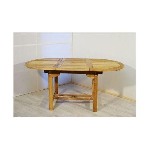 Stół owalny drewniany120cm rozkładany STOŁY, Brak z Decorations.pl
