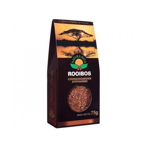 Rooibos herbatka czerwonokrzew afrykański 75g / natur vit marki Natur-vit
