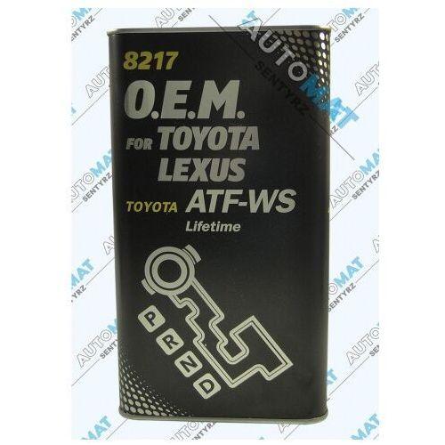 Olej MANNOL ATF-WS Toyota Lexus 4L