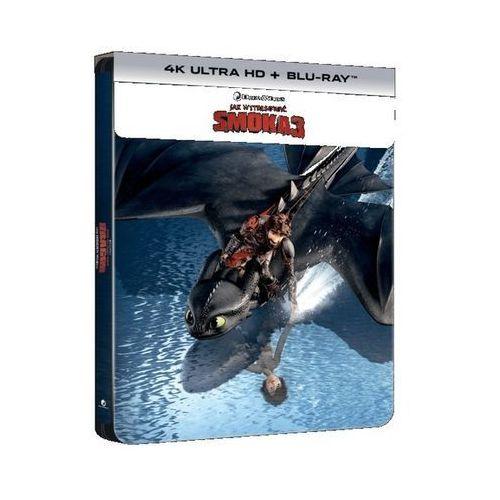 Filmostrada Jak wytresować smoka 3 steelbook uhd (płyta dvd)