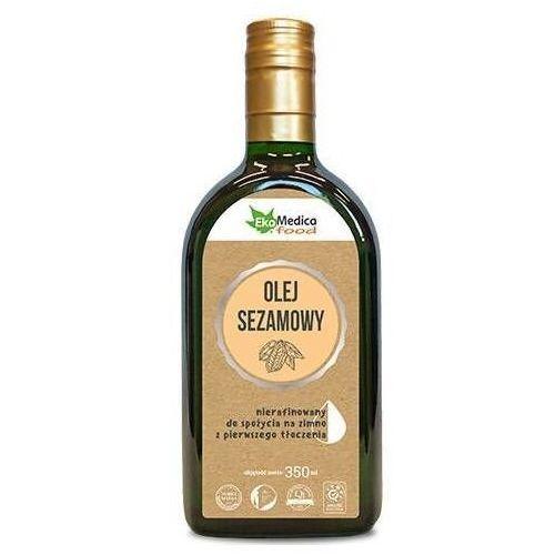 Olej sezamowy z pierwszego tłoczenia nierafinowany 350ml marki Ekamedica