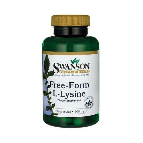 Swanson health produkcts fargo, nd 58108, usa, dystrybutor: pro sport L-lizyna free-form l-lysine 500mg 300 kapsułek swanson