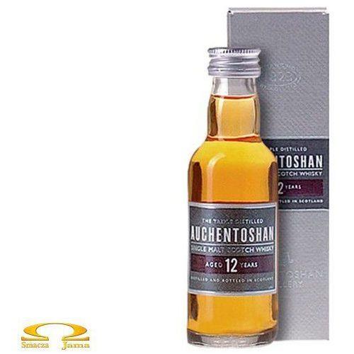 Whisky auchentoshan 12 years old miniaturka 0,05l marki Morrison bowmore distillery ltd