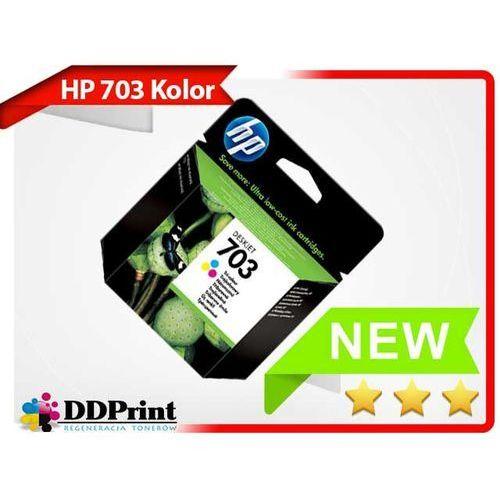 Oryginalny tusz HP 703 CD888AE Kolor do drukarek HP F730 F735 K109a K209a K510