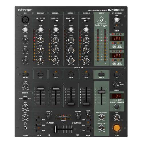 """Behringer pro mixer djx900usb - mikser dj -5% na pierwsze zakupy z kodem """"start""""!"""