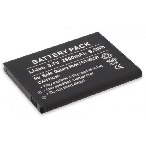 Bateria ANSMANN do Samsung Galaxy Note GT-I9220 (2500 mAh)
