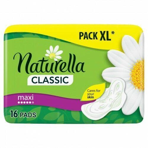 Naturella - podpaski classic maxi camomile ze skrzydełkami marki Promki24.com
