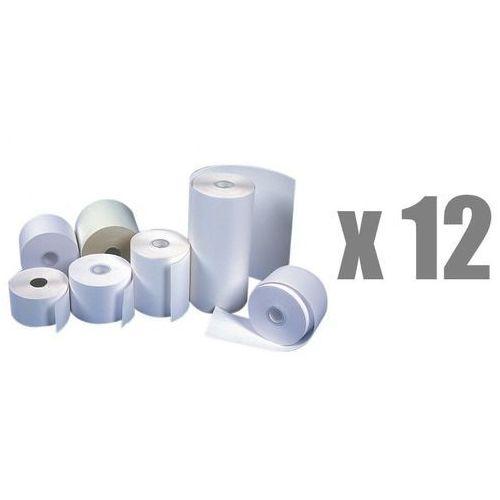 Rolki papierowe do kas termiczne Emerson, 57 mm x 40 m, opakowanie 12 x zgrzewka 10 rolek - Autoryzowana dystrybucja - Szybka dostawa - Tel.(34)366-72-72 - sklep@solokolos.pl