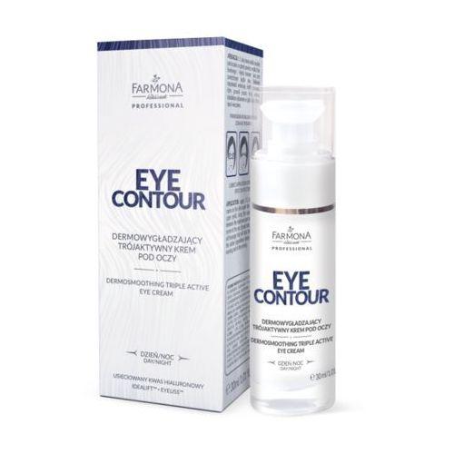 Farmona Eye Contour Dermowygładzający Trójaktywny Krem Pod Oczy 30ml (5900117590034)