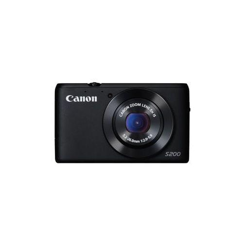 Canon PowerShot S200, matryca 10Mpx