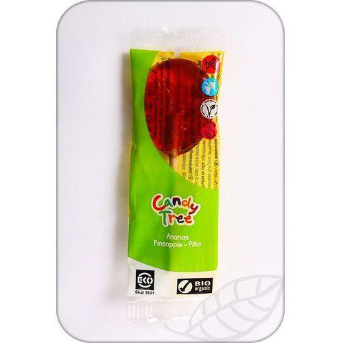 Candy tree : lizak smak ananasowy bio - 13 g (8711542002378)