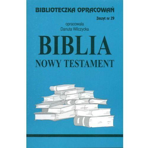 Biblioteczka Opracowań Biblia Nowy Testament, oprawa miękka