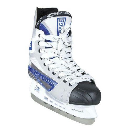 Łyżwy hokejowe SPOKEY Rage 45 - oferta [05f6de47231fc359]
