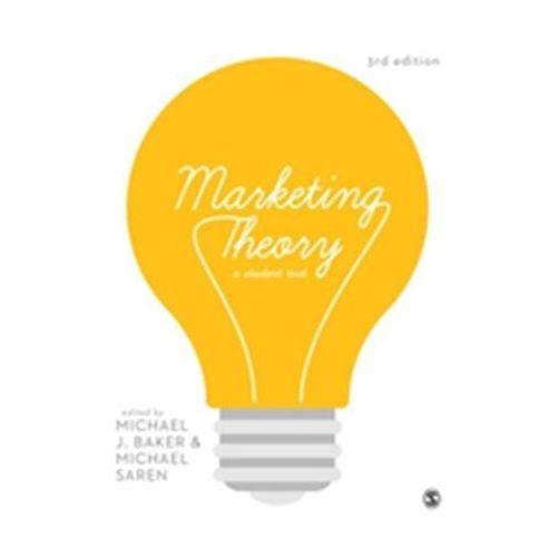 Marketing Theory (9781473904019)