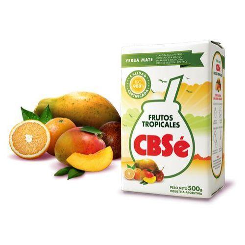 Yerba Mate CBSe Frutos Tropicales (mango, marakuja, papaja, pomarańcza) 500g