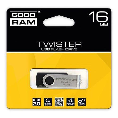 PENDRIVE GOODRAM Twister 16GB, kup u jednego z partnerów
