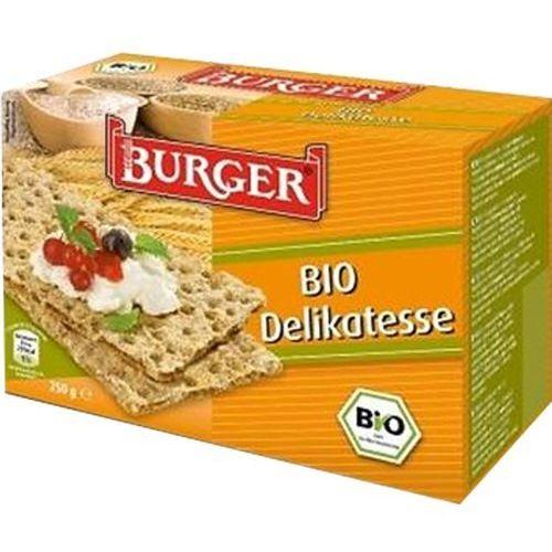 Burger (pieczywo chrupkie, sucharki) Pieczywo chrupkie żytnie razowe bio 250 g - burger