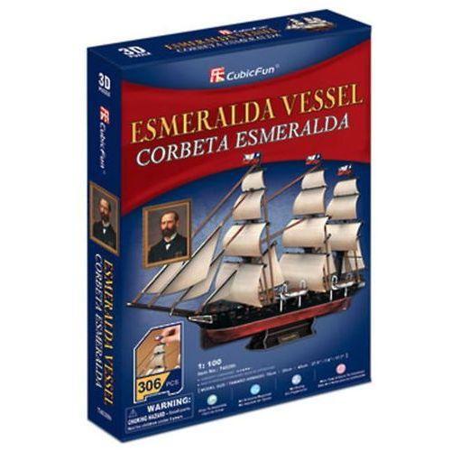 Neuveden Puzzle 3d esmeralda vessel - 306 dílků