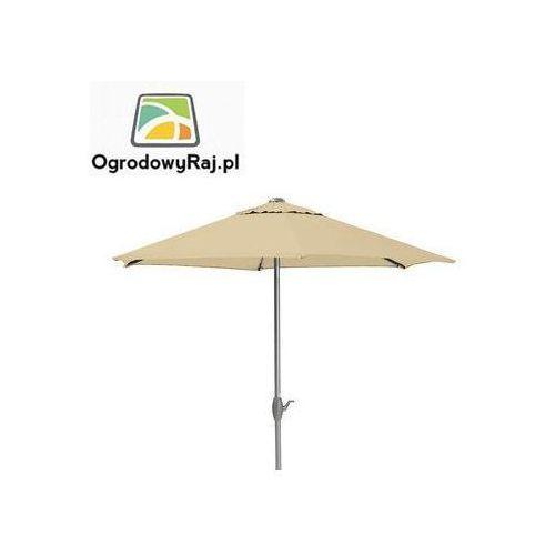 Parasol z korbką Ø 300 0106042-0800 (parasol ogrodowy) od OgrodowyRaj.pl