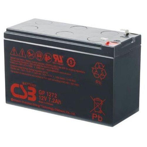 Akumulator AGM CSB GP 1272 F2 (12V 7,2Ah) (VdS), GP1272