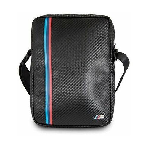 "Torba BMW BMTB8MCPBK Tablet 8"" czarny/black Carbon / Tricolor Stripe"
