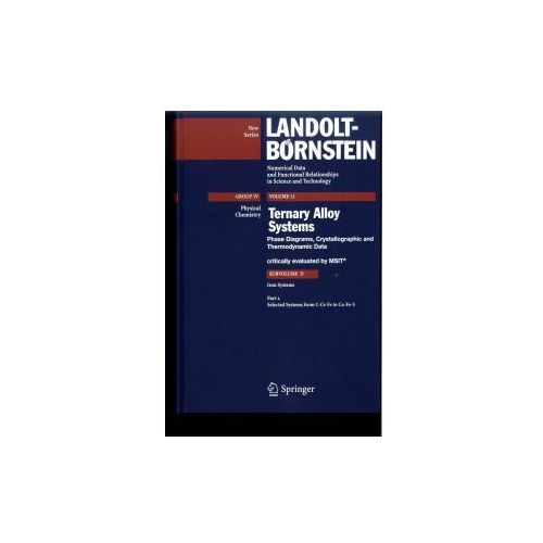 Landolt-Börnstein: Numerical Data and Functional Relationships in Science and Technology - New Series (9783540741930)