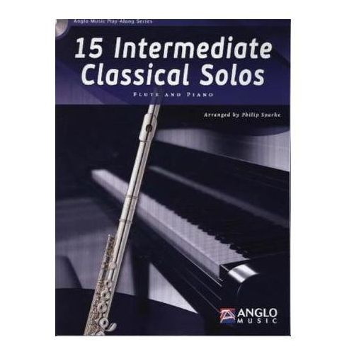 15 Intermediate Classical Solos, für Querflöte, m. Audio-CD