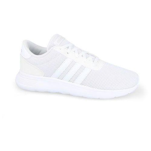 BUTY ADIDAS LITE RACER K BC0074 - BIAŁY, kolor biały
