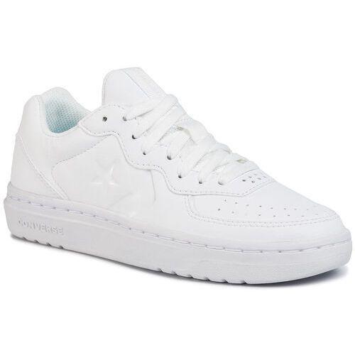 Sneakersy - rival ox 164445c white/white/white marki Converse