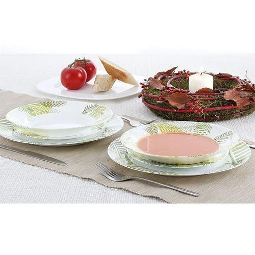 Serwis obiadowy LUMINARC GREEN FOREST na 6 osób (18 el.) - rabat 10 zł na pierwsze zakupy! - sprawdź w Garneczki.pl - Wyposażenie Kuchni!