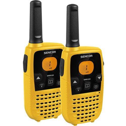 Krótkofalówka walkie talkie smr 120 + darmowy transport! marki Sencor