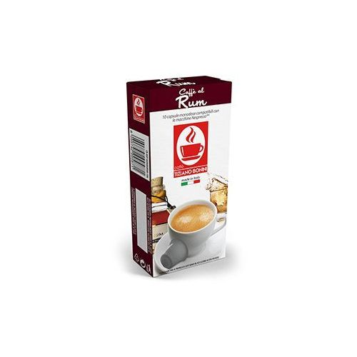 Kapsułki do Nespresso* HAVANA RUM 10 kapsułek - do 12% rabatu przy większych zakupach oraz darmowa dostawa, CB-NSP-HAVANARU-010A