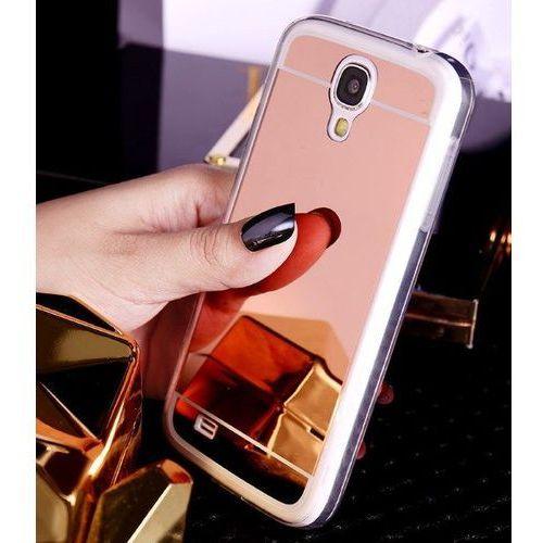 Slim Mirror Case Różowy   Etui dla Samsung Galaxy S4 - Różowy, kolor Różowy