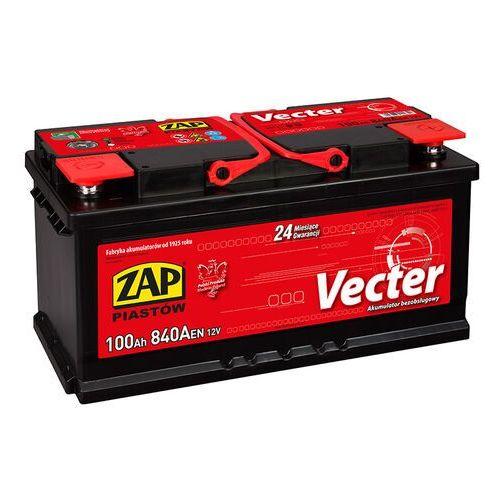 Akumulator ZAP Vecter 100Ah 840A PRAWY PLUS