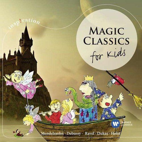 Warner music group Emi inspiration magic classics for kids [cd]