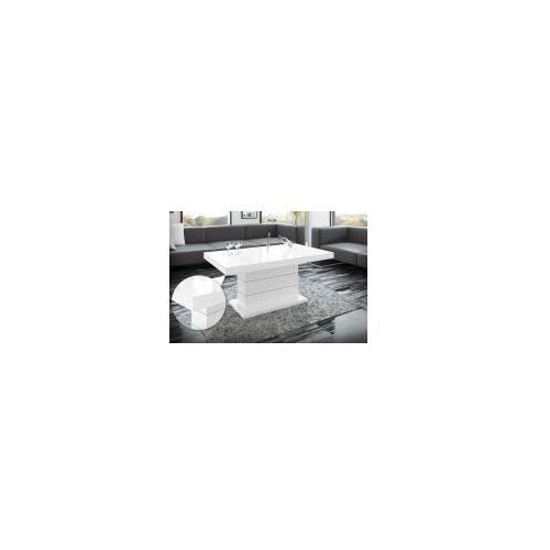 MATERA LUX - ława podnoszona i rozkładana biała i czarna HUBERTUS EXCLUSIVE wysyłka GRATIS