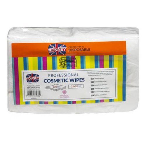 Ronney COSMETIC WIPES Chusteczki kosmetyczne gładkie (25x20)