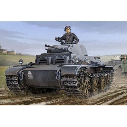 Niemiecki czołg lekki pzkpfw. ii ausf.j (vk1601) hobbyboss 83803 marki Hobby boss