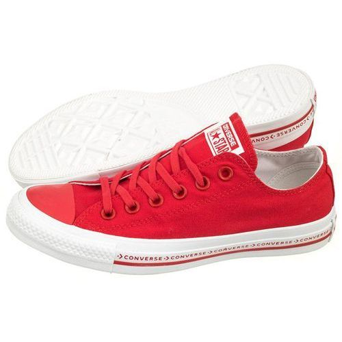 Converse Trampki ct all star ox pinstripe 159588c enamel red (co321-a)
