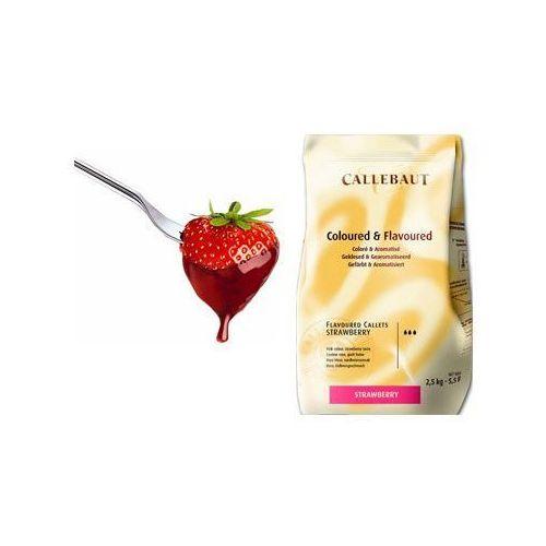Czekolada truskawkowa do fondue oraz fontann | 2,5 kg marki Callebaut
