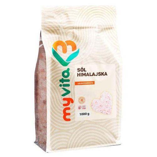 Proness myvita Sól himalajska różowa gruba, 1000g, myvita