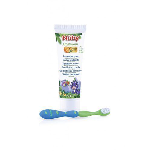 Pasta do zębów Nuby+ szczoteczka 5Y34J8
