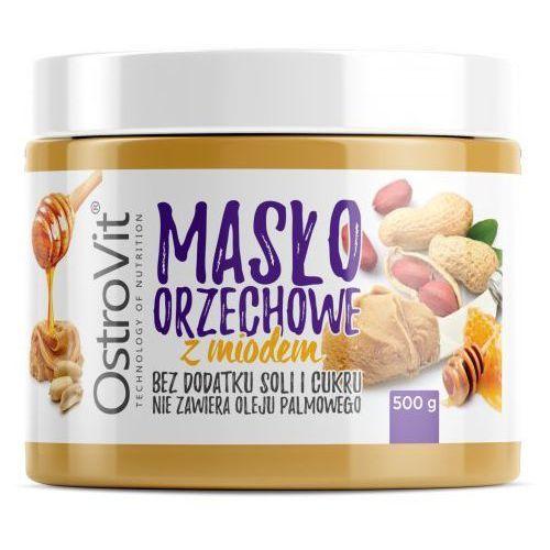 Masło Orzechowe OSTROVIT z Miodem 500g, Smaki: Dowolny Najlepszy produkt