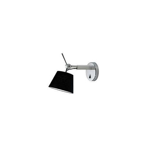 Zyta wall xs mb2300-xs-alu/bk lampa kinkiet na wysięgniku marki Azzardo