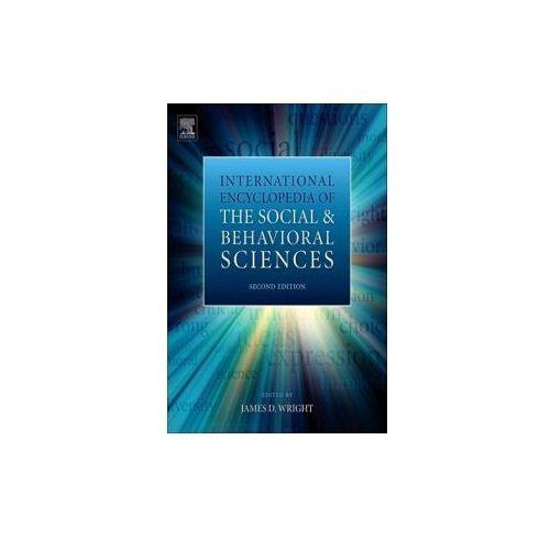 International Encyclopedia of the Social & Behavioral Sciences